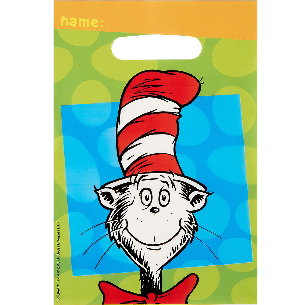 Dr Seuss Who Is He: Dr. Seuss Favor Bags 8ct
