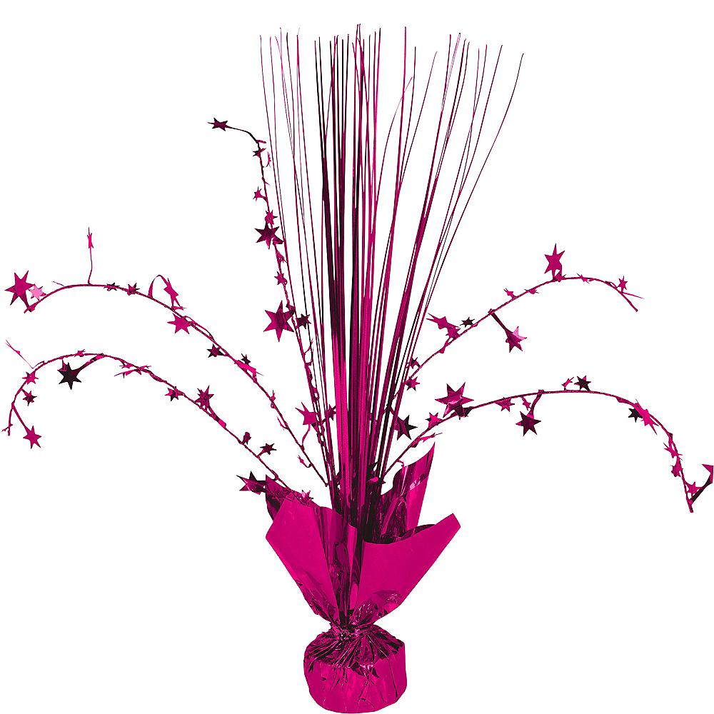 Bright Pink Spray Centerpiece Image #1