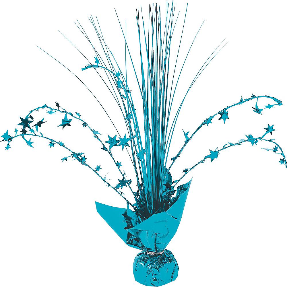 Caribbean Blue Spray Centerpiece Image #1