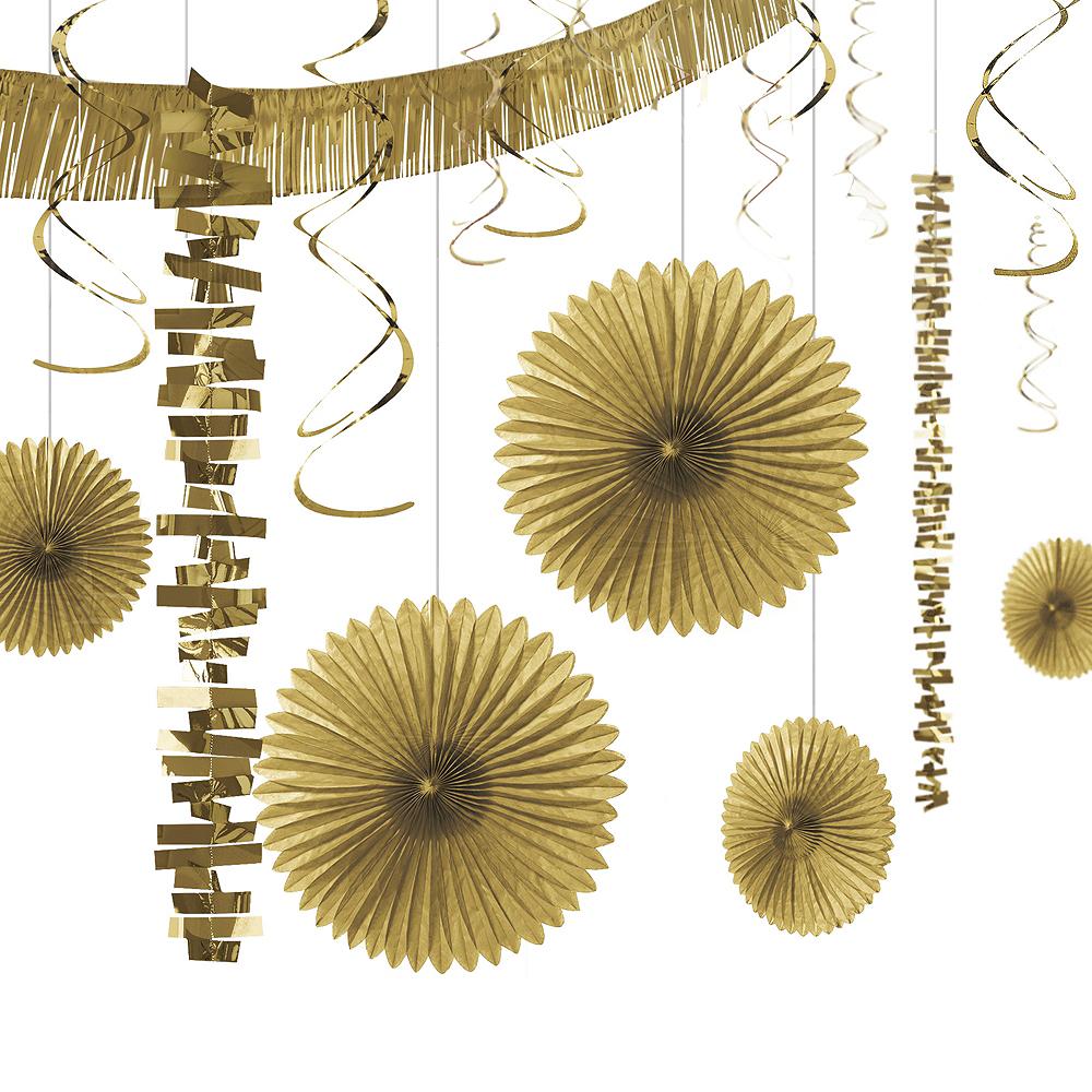 Gold Decorating Kit 18pc Image #1