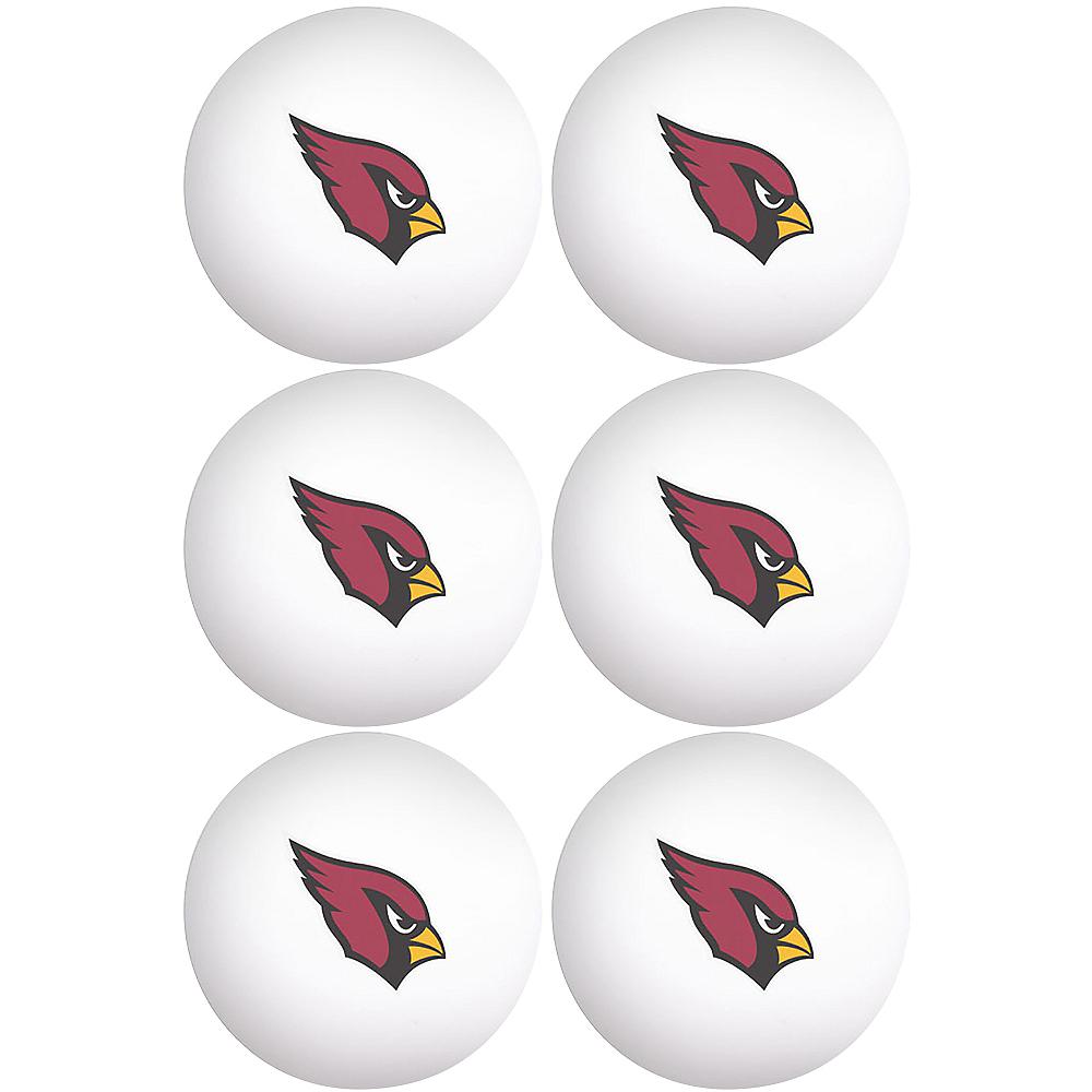 Arizona Cardinals Pong Balls 6ct Image #1