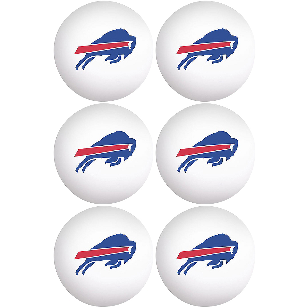Buffalo Bills Pong Balls 6ct Image #1