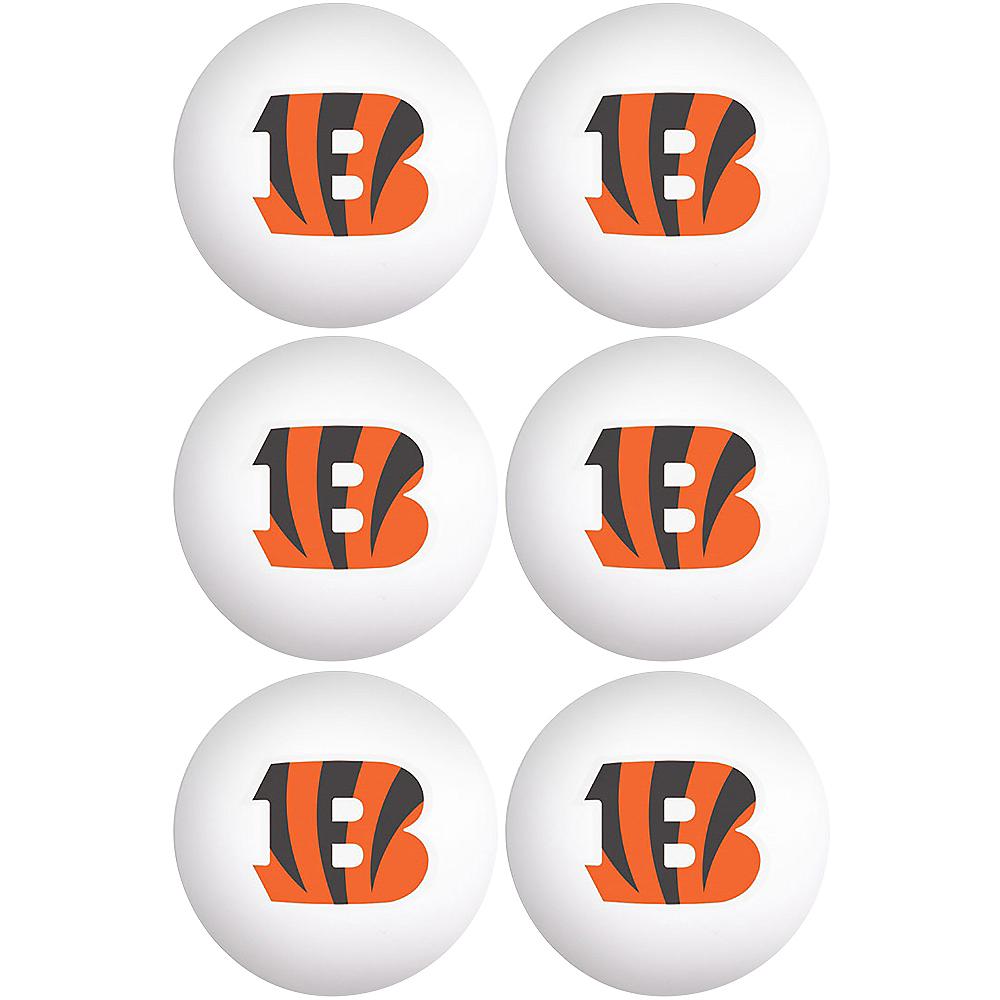 Cincinnati Bengals Pong Balls 6ct Image #1