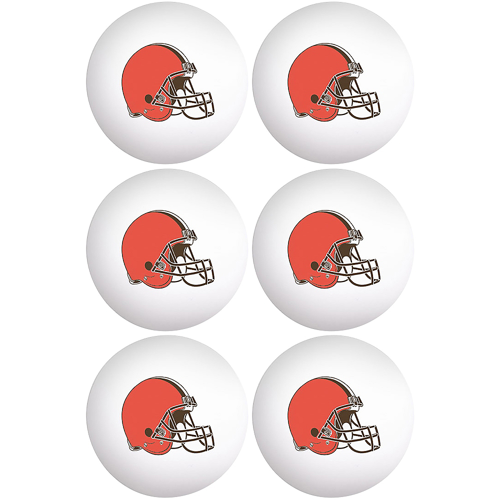 Cleveland Browns Pong Balls 6ct Image #1