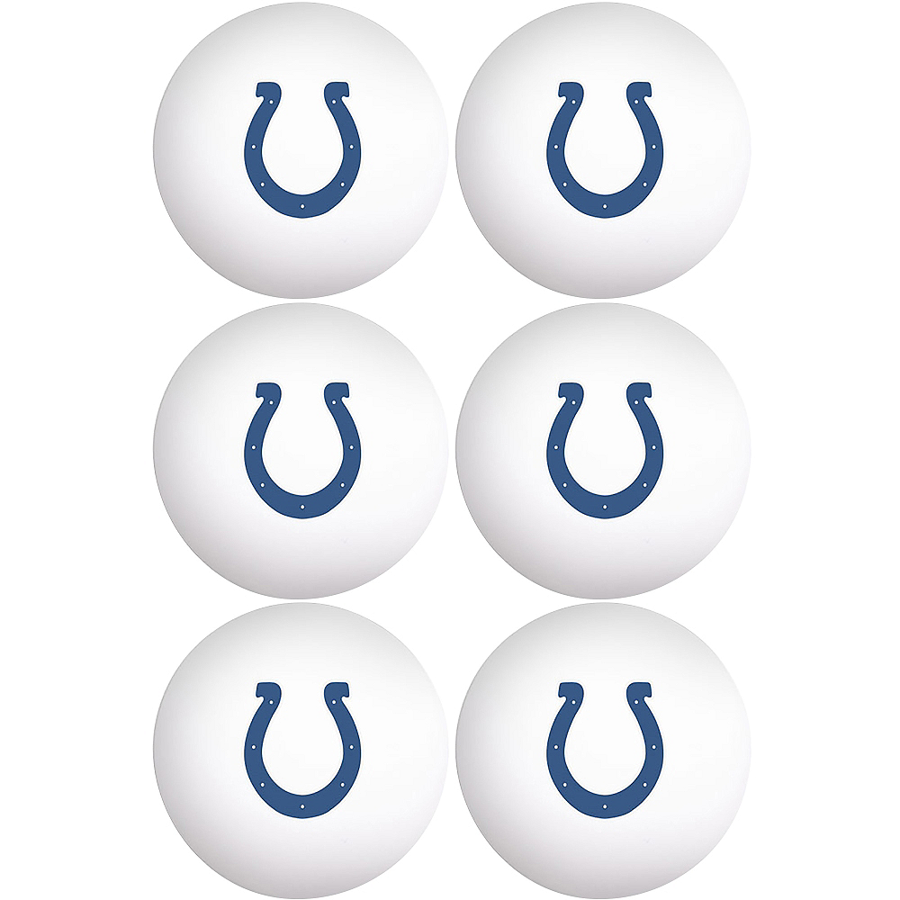 Indianapolis Colts Pong Balls 6ct Image #1