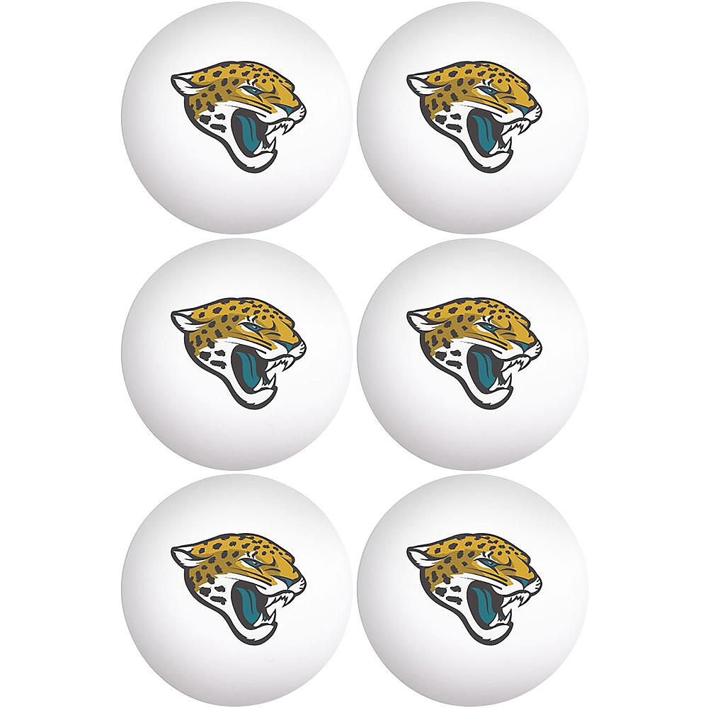 Jacksonville Jaguars Pong Balls 6ct Image #1
