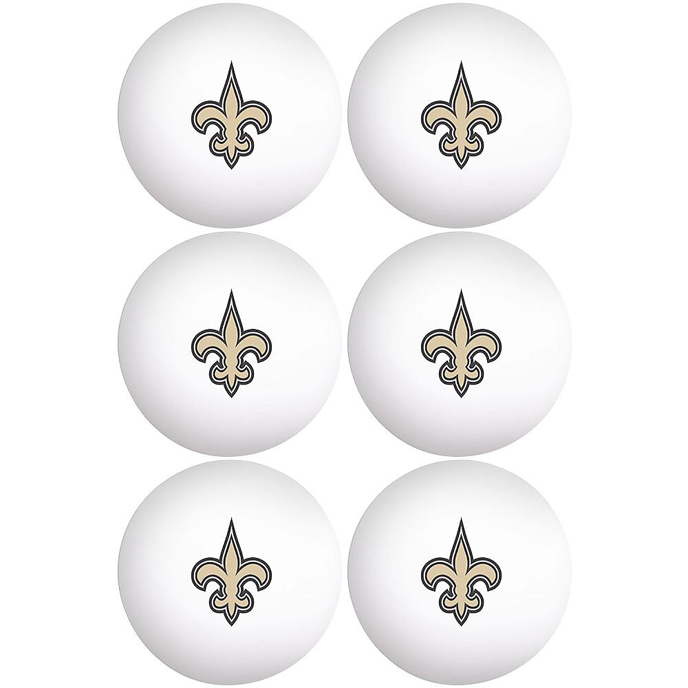 New Orleans Saints Pong Balls 6ct Image #1