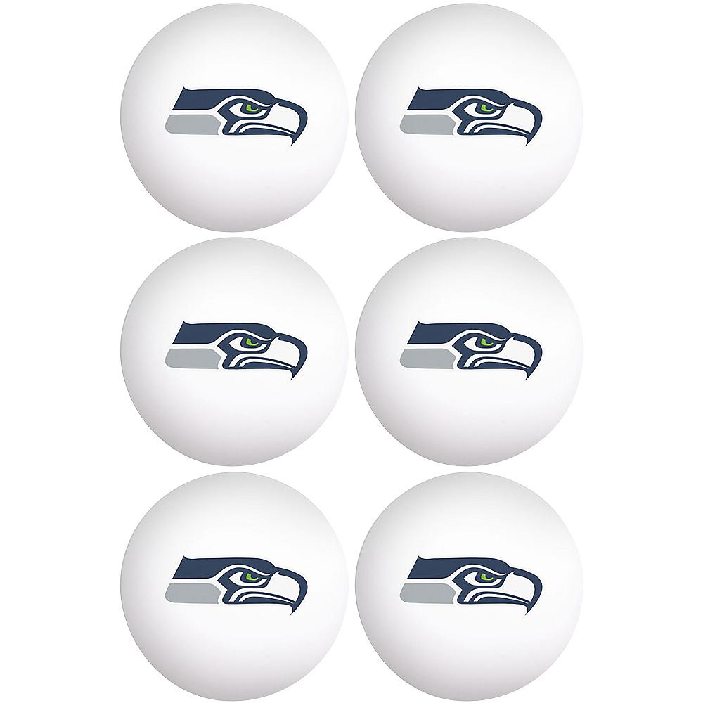 Seattle Seahawks Pong Balls 6ct Image #1