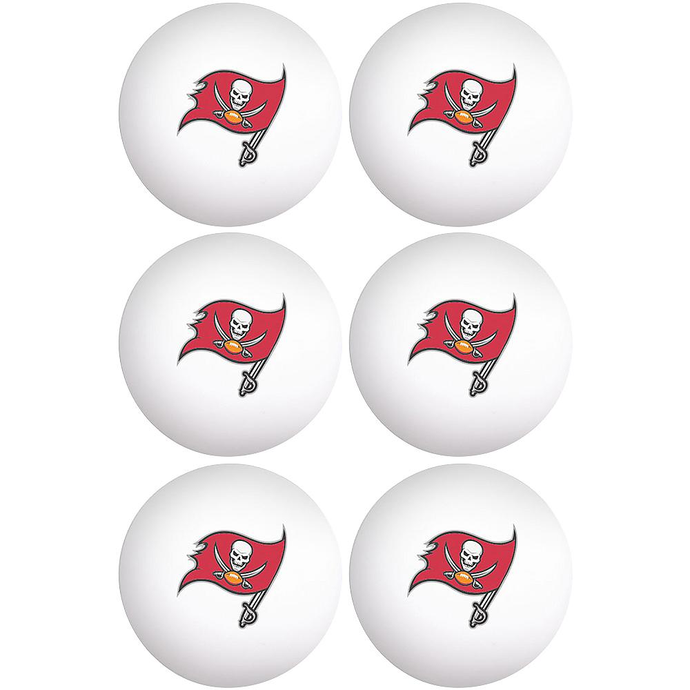 Tampa Bay Buccaneers Pong Balls 6ct Image #1