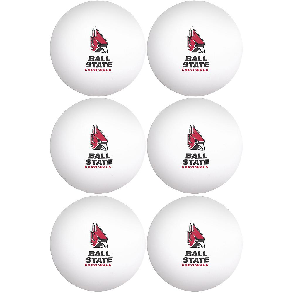 Ball State Cardinals Pong Balls 6ct Image #1