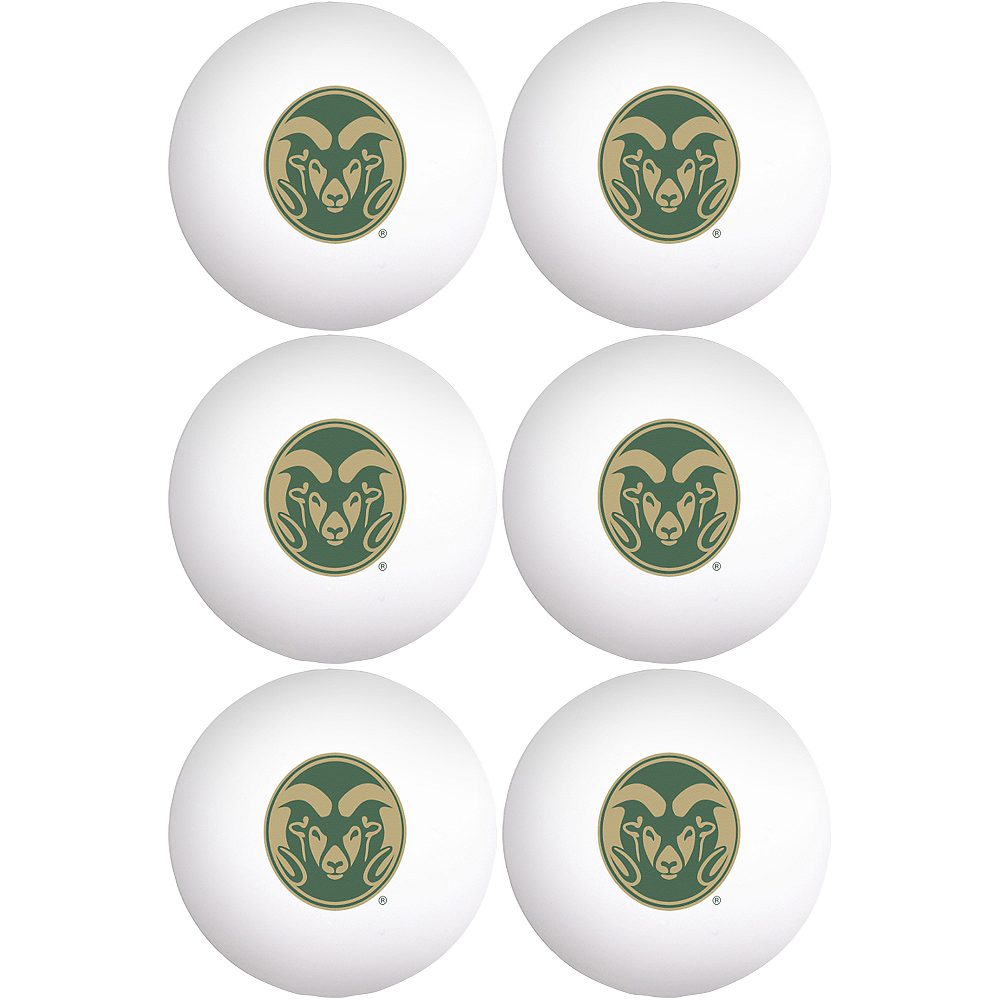 Nav Item for Colorado State Rams Pong Balls 6ct Image #1