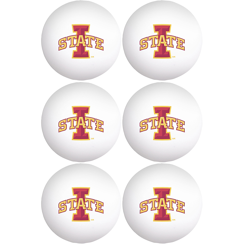Nav Item for Iowa State Cyclones Pong Balls 6ct Image #1