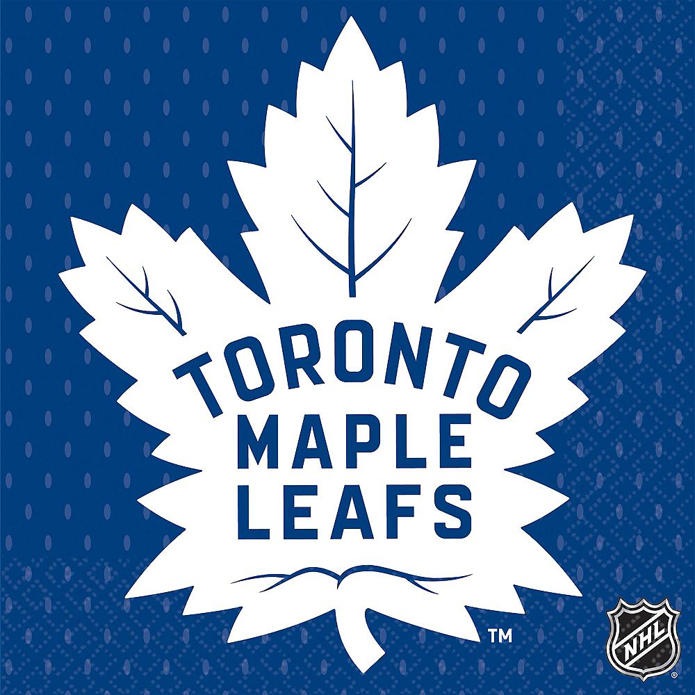 Toronto Maple Leafs Lunch Napkins 16ct Image #1