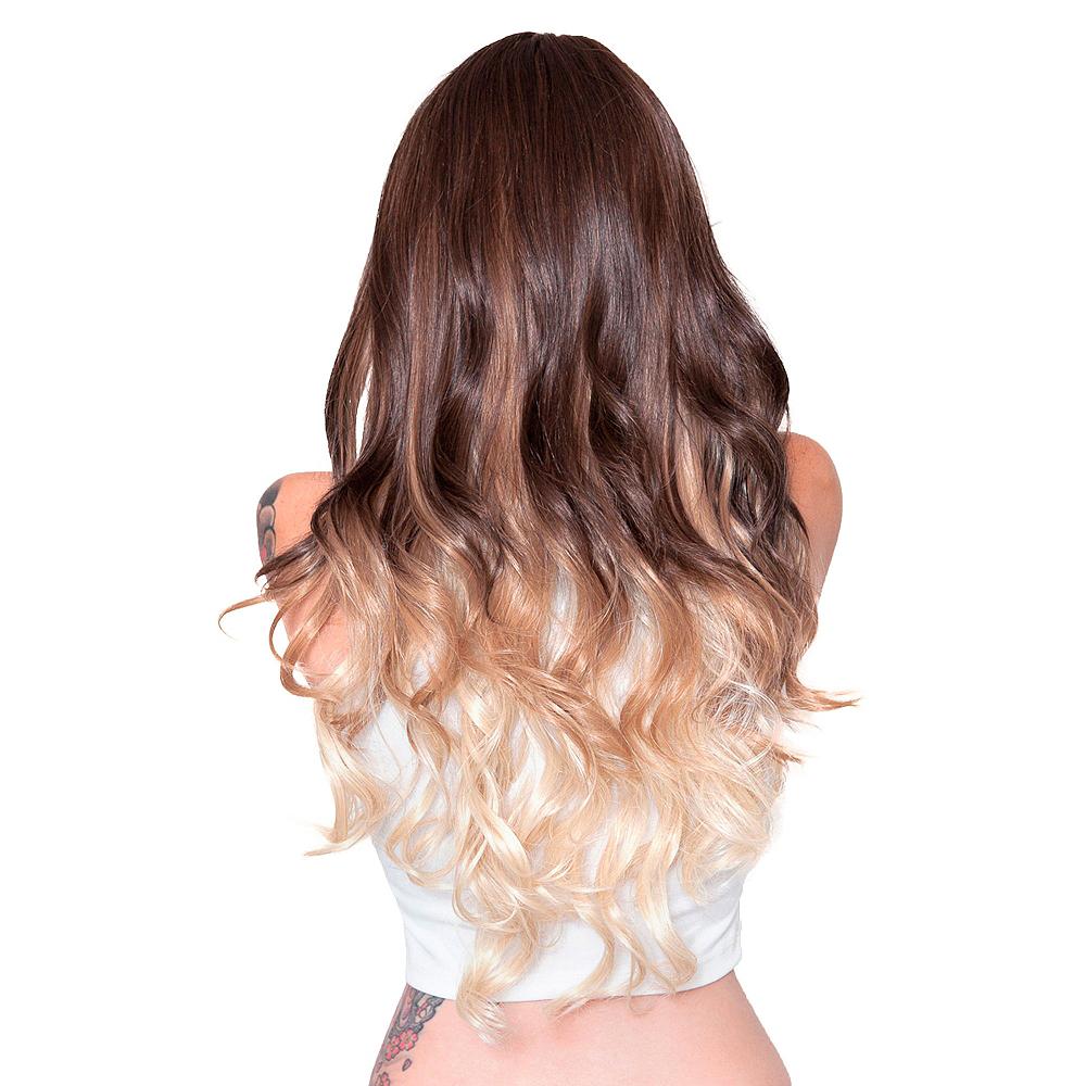 Curly Choco Vanilla Cosplay Wig Image #2