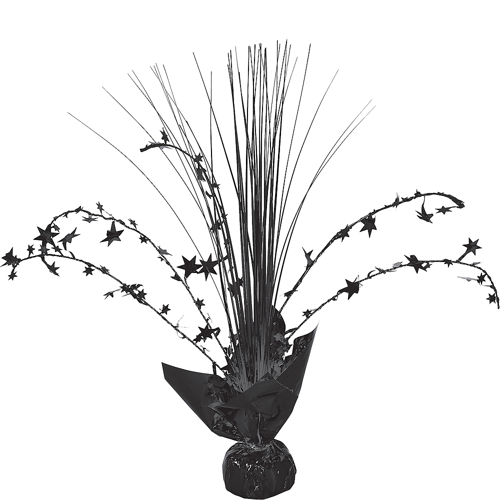 Black Spray Centerpiece Image #1