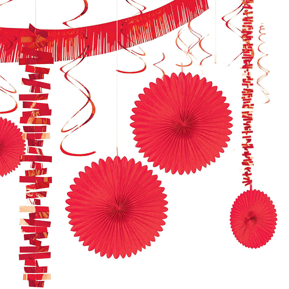 Red Decorating Kit 18pc Image #1