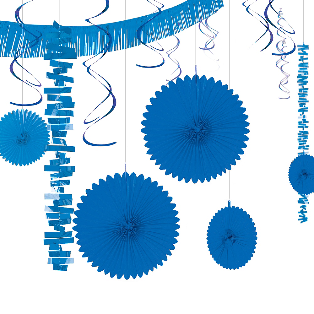Royal Blue Decorating Kit 18pc Image #1