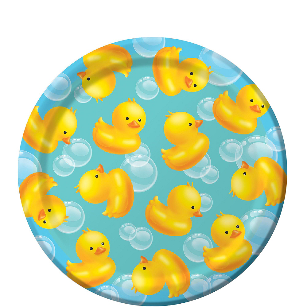 Rubber Ducky Baby Shower Tableware Kit for 16 Guests Image #2