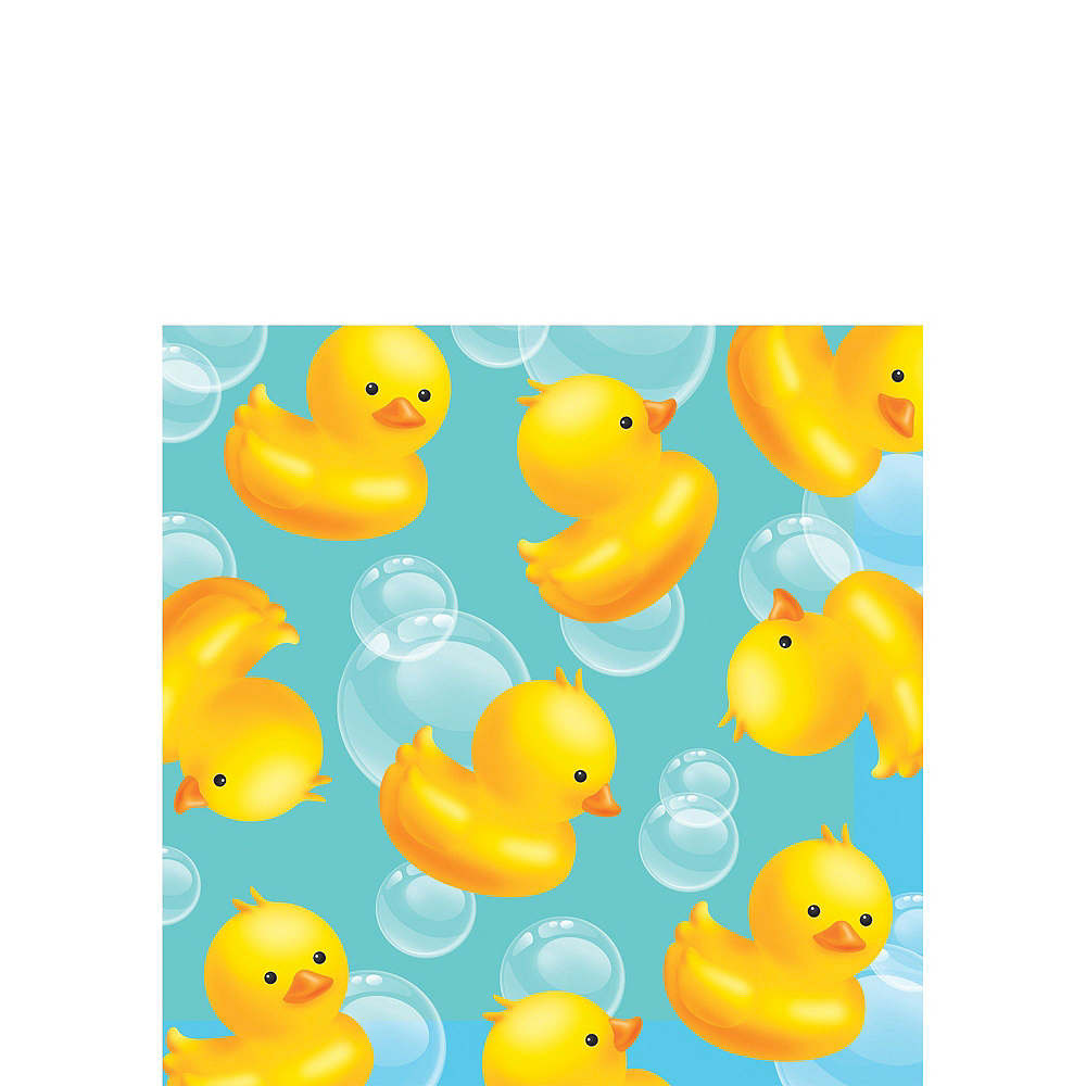 Rubber Ducky Baby Shower Tableware Kit for 16 Guests Image #4