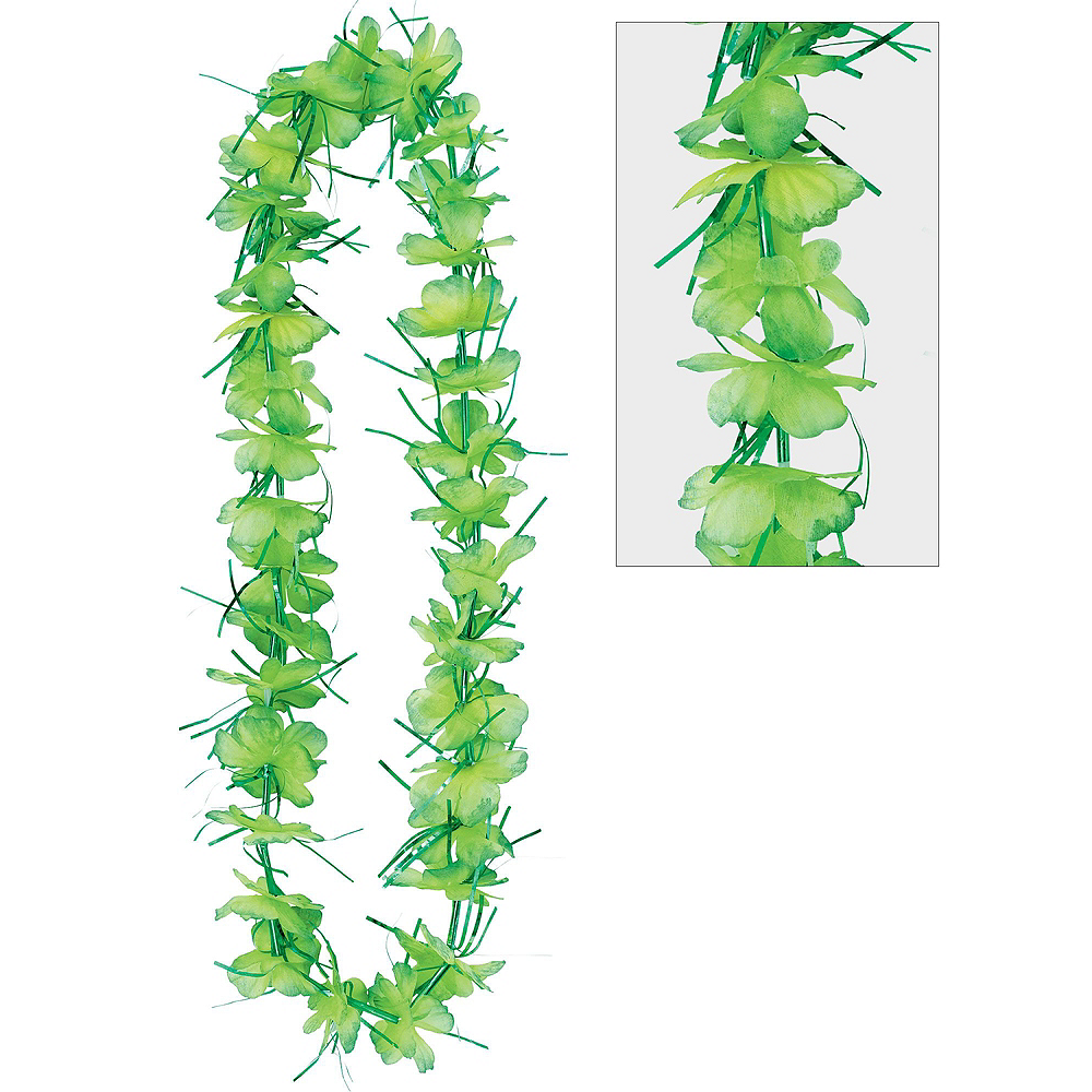 Nav Item for Child Neon Luau Costume Accessory Kit Image #2