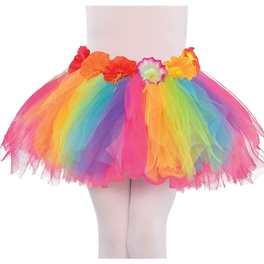 Child Neon Luau Costume Accessory Kit Image #5