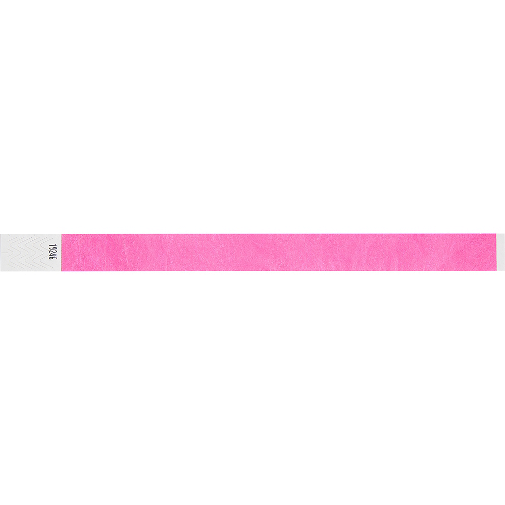 Pink Wristbands 100ct Image #4