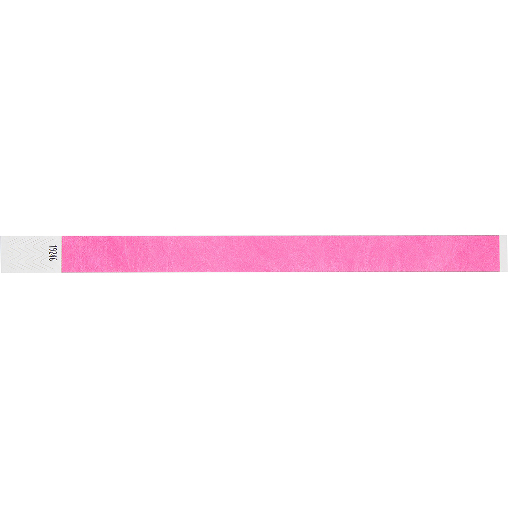 Pink Wristbands 500ct Image #4