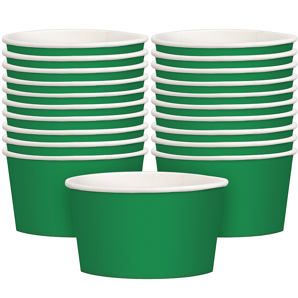 Festive Green Treat Cups 20ct Image #1