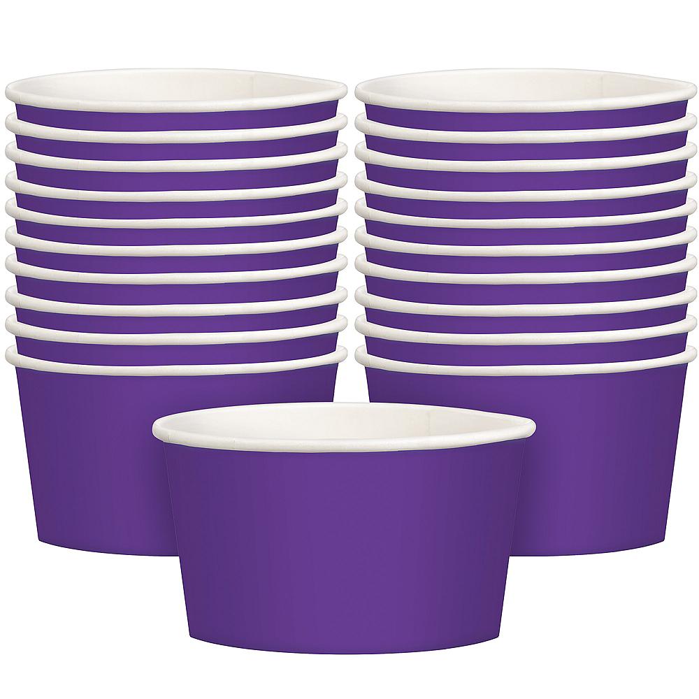 Purple Treat Cups 20ct Image #1