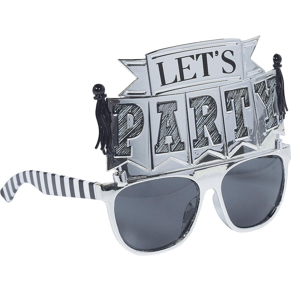 Chalkboard Birthday Glasses Image #2