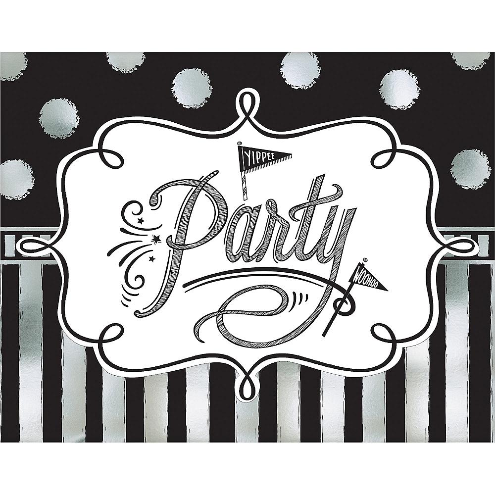 Chalkboard Dots Birthday Invitations 8ct | Party City