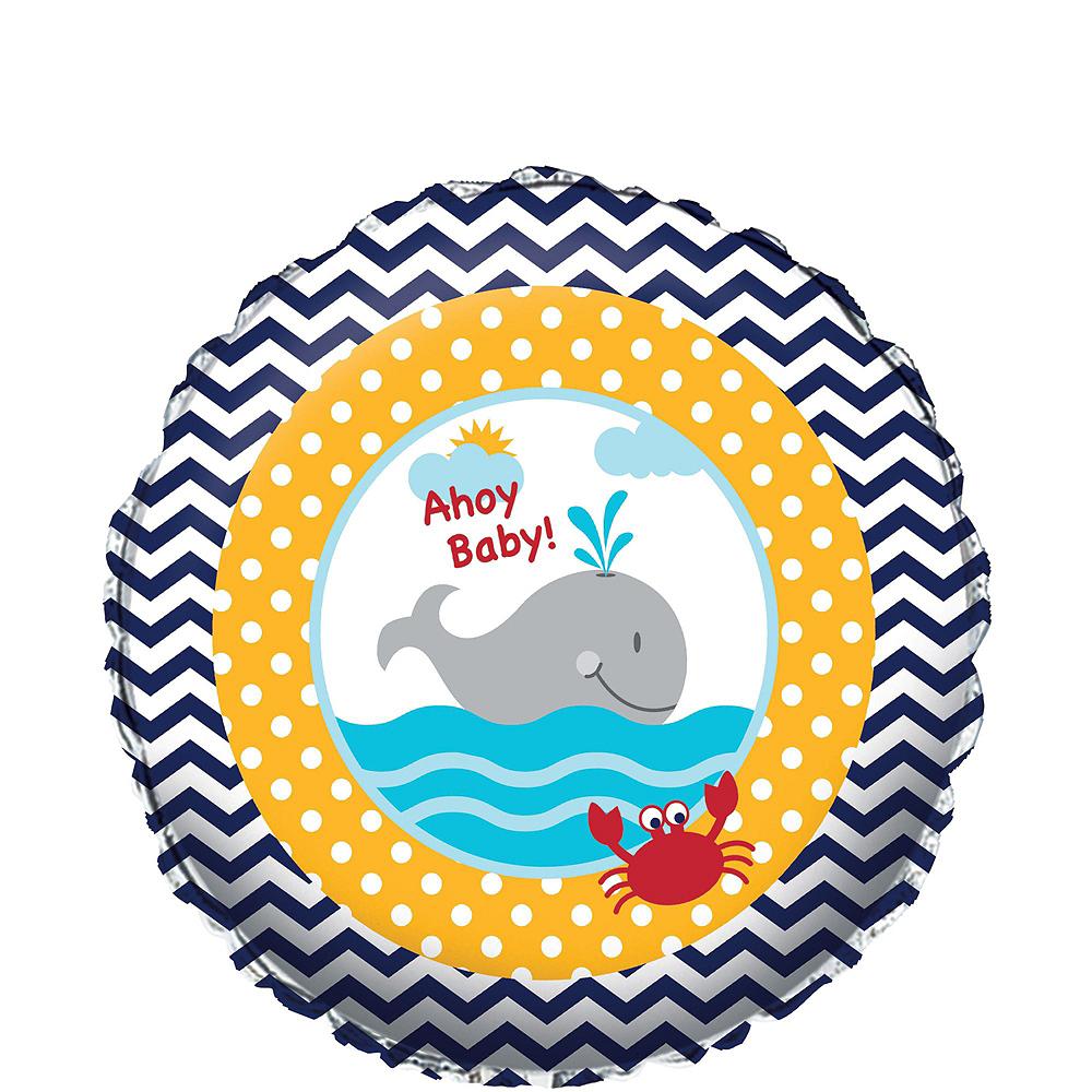Ahoy Nautical Baby Balloon Kit Image #2