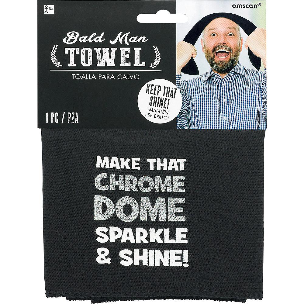 Bald Head Towel Image #1