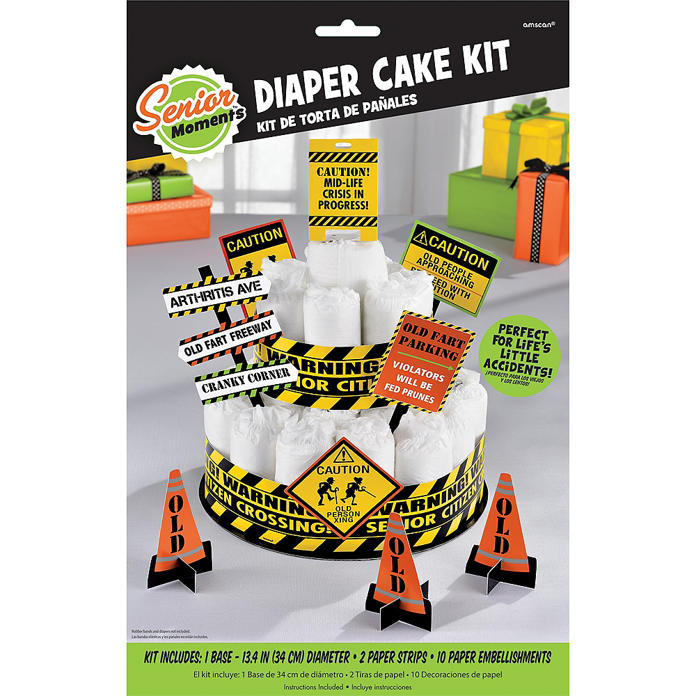 Adult Diaper Cake Decorating Kit Image #3