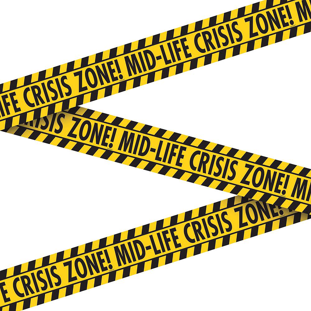 Midlife Crisis Warning Tape Image #1