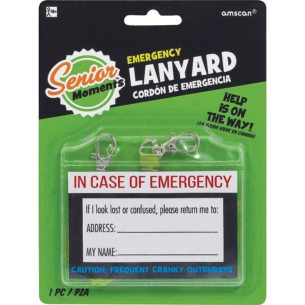 In Case of Emergency Lanyard Image #2