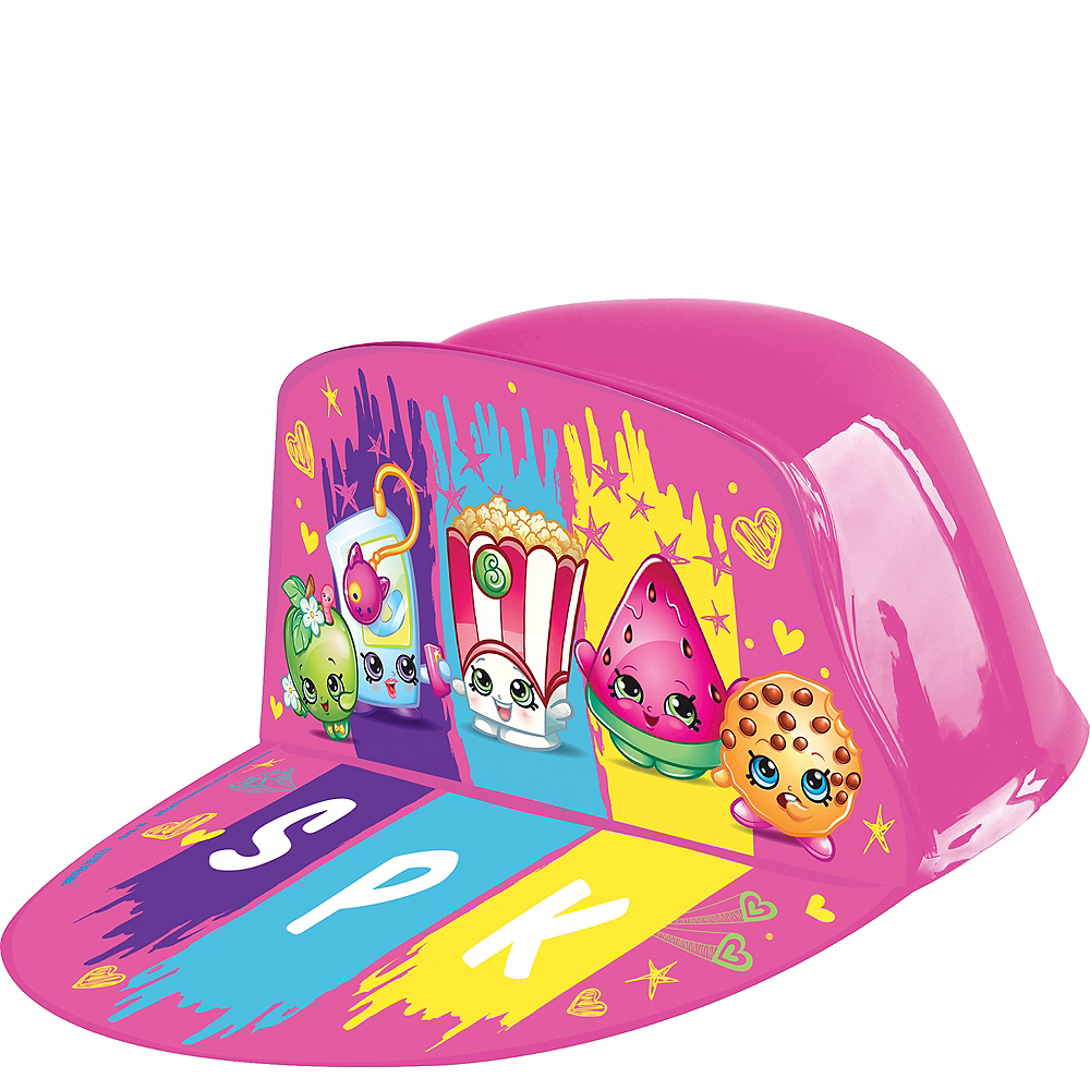 Shopkins Plastic Hat Image #1