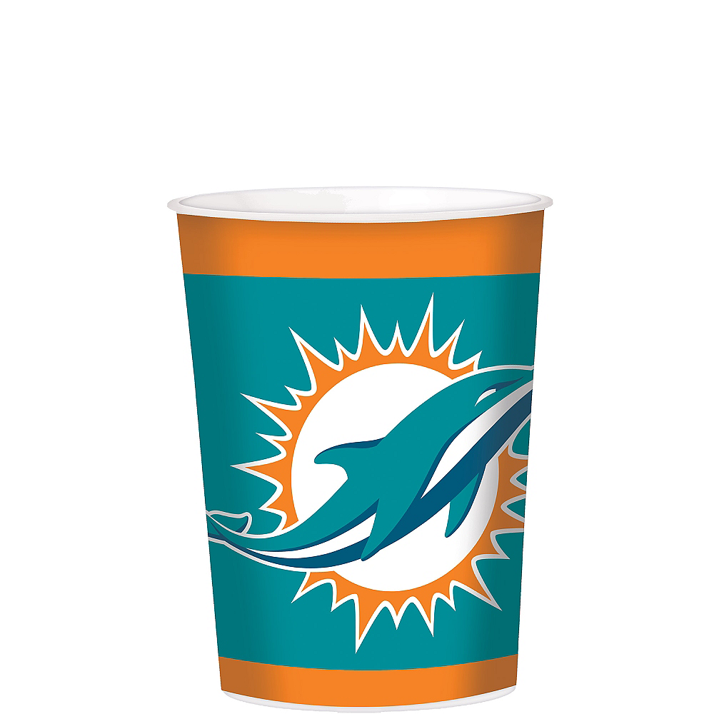 Nav Item for Miami Dolphins Favor Cup Image #1