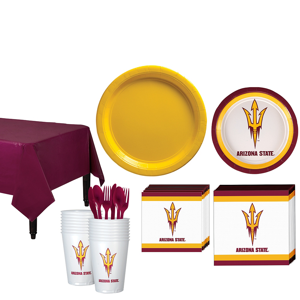 Arizona State Sun Devils Party Kit for 16 Guests Image #1