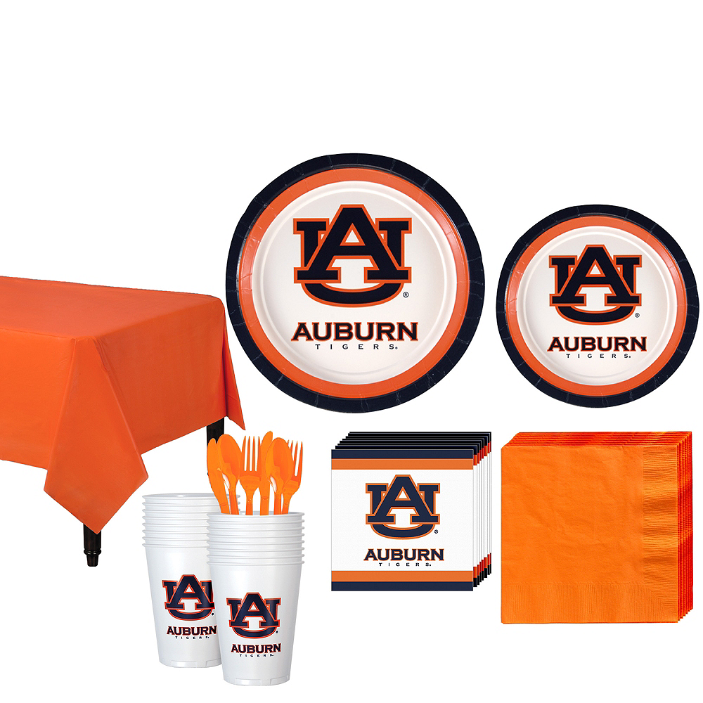 Auburn Tigers Party Kit for 16 Guests Image #1