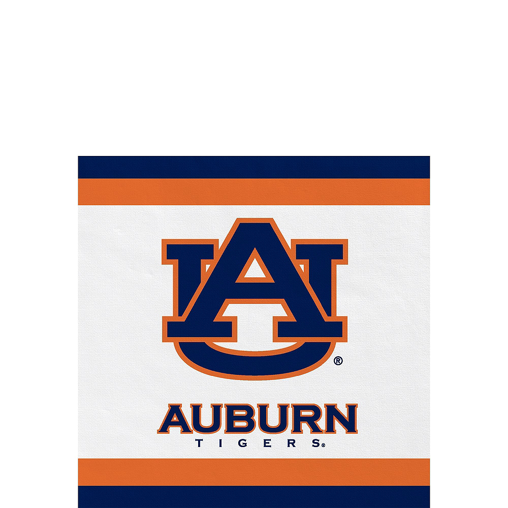 Auburn Tigers Party Kit for 16 Guests Image #4