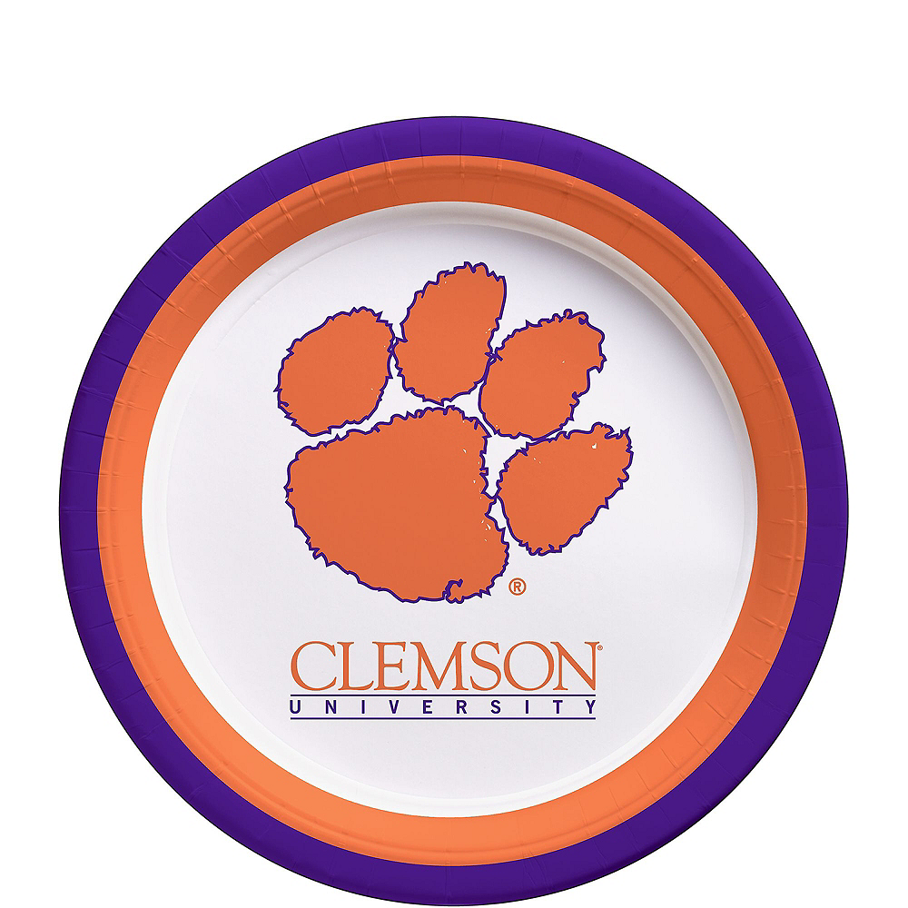 Nav Item for Clemson Tigers Party Kit for 16 Guests Image #2