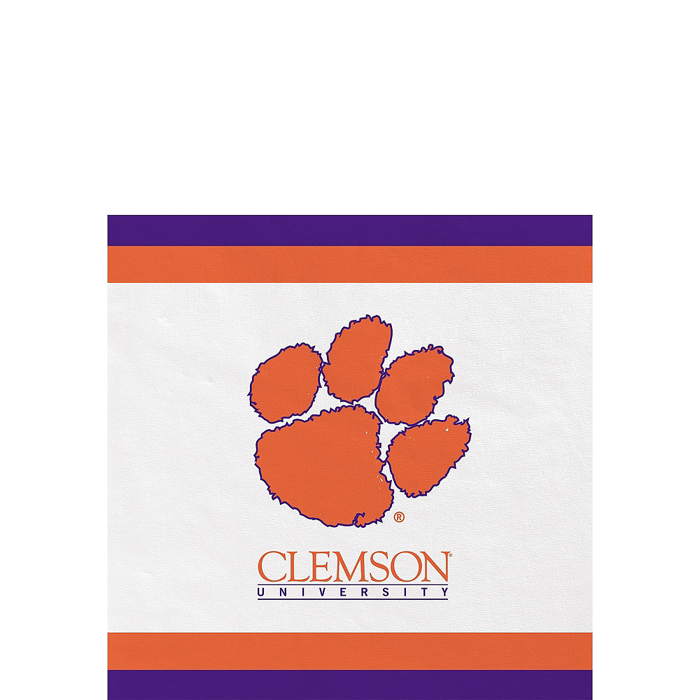 Clemson Tigers Party Kit for 16 Guests Image #4