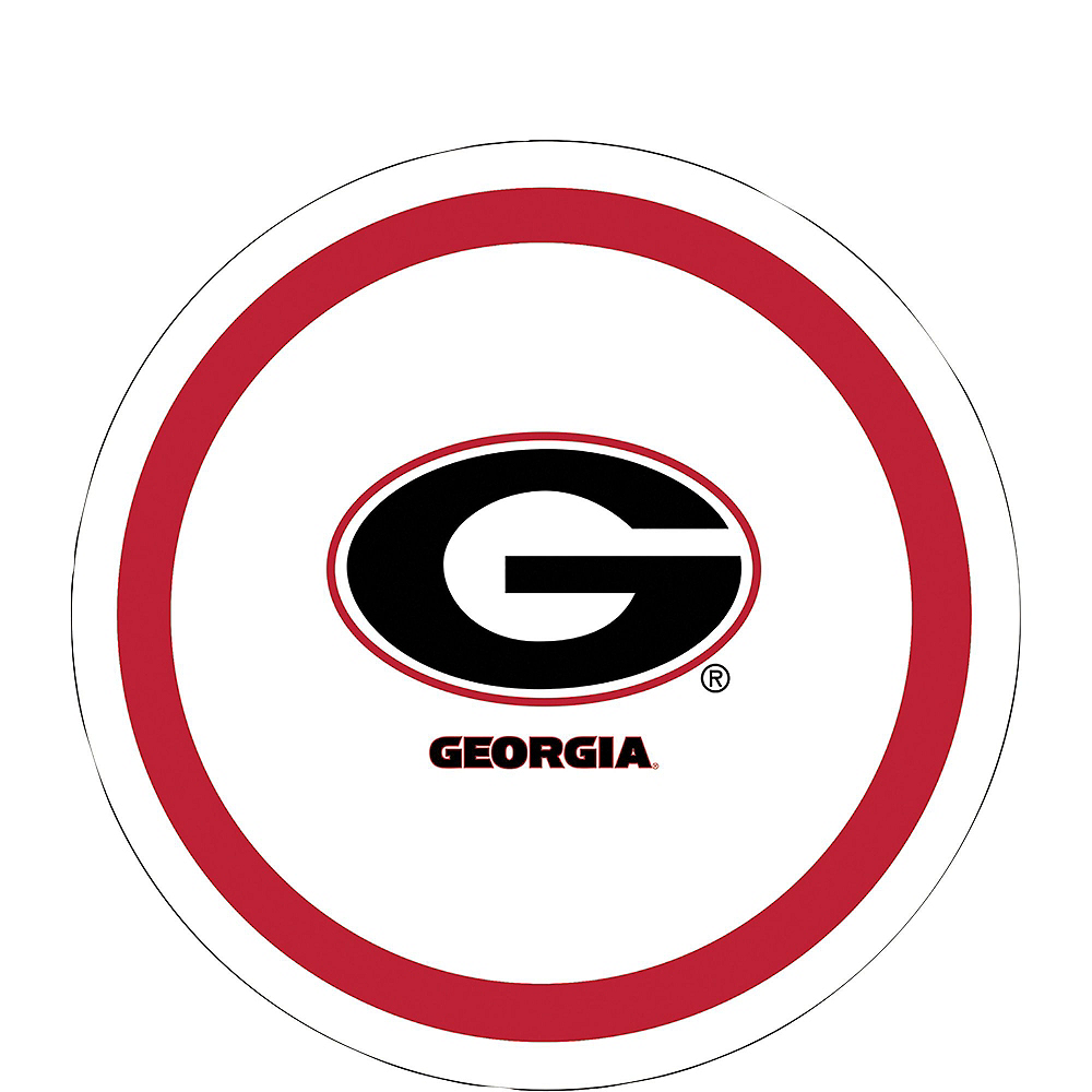 Georgia Bulldogs Party Kit for 16 Guests Image #2