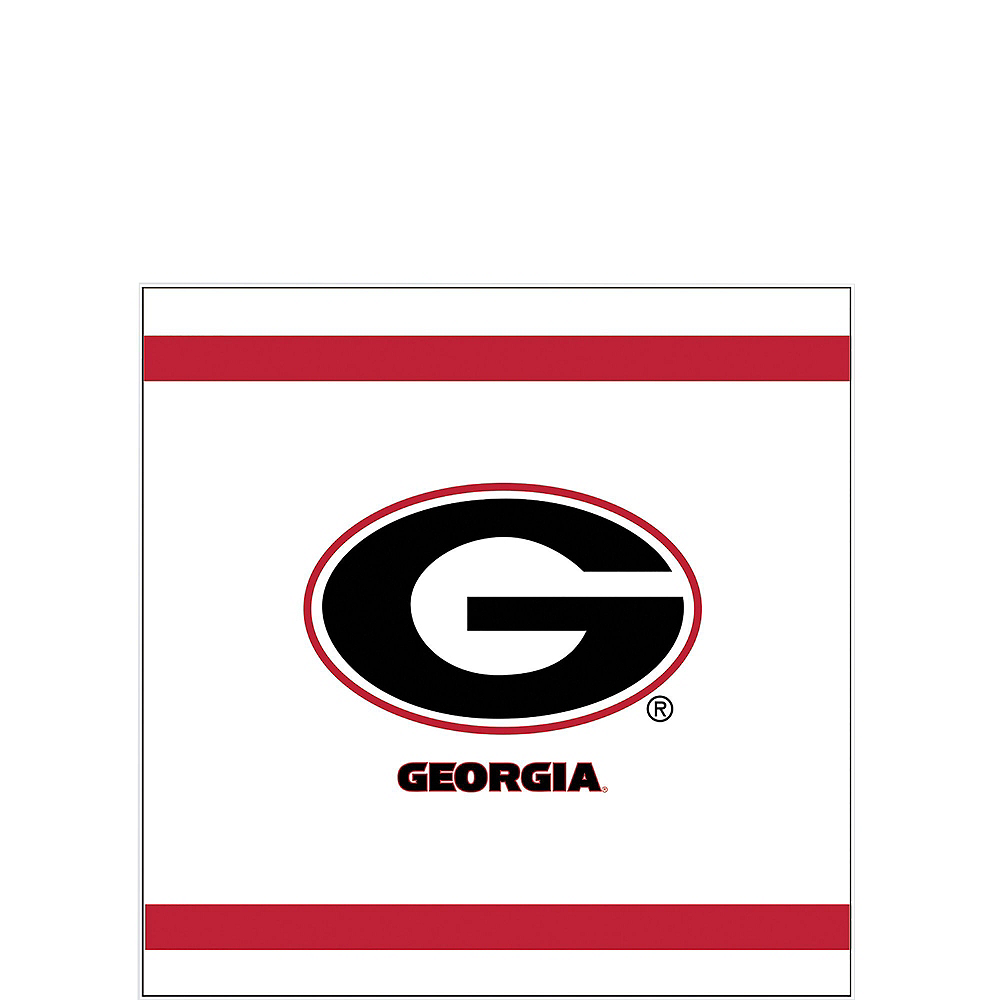 Georgia Bulldogs Party Kit for 16 Guests Image #4