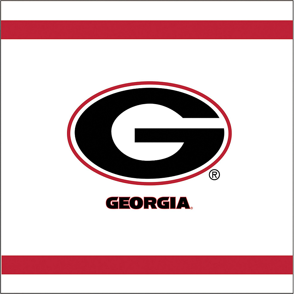 Georgia Bulldogs Party Kit for 16 Guests Image #5