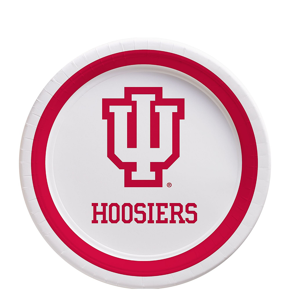 Indiana Hoosiers Party Kit for 16 Guests Image #2
