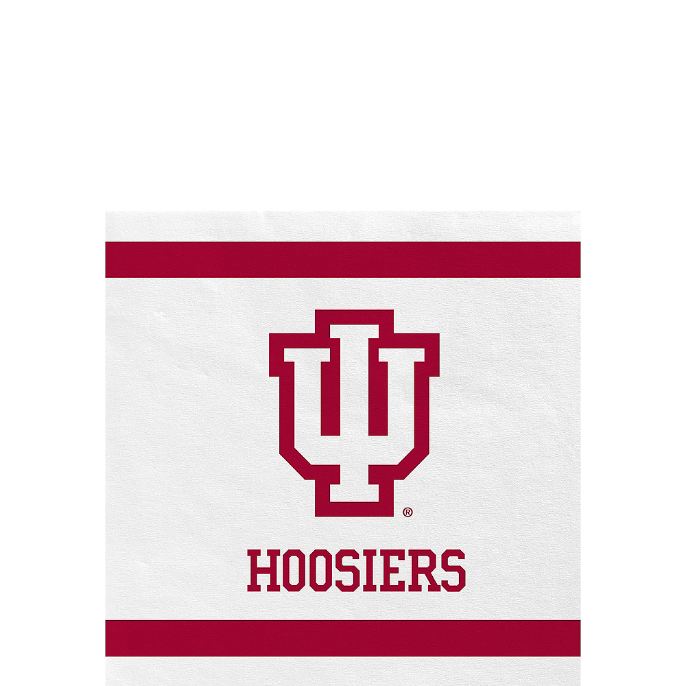 Indiana Hoosiers Party Kit for 16 Guests Image #4