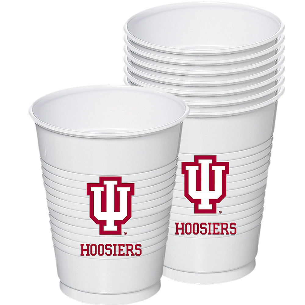 Indiana Hoosiers Party Kit for 16 Guests Image #6
