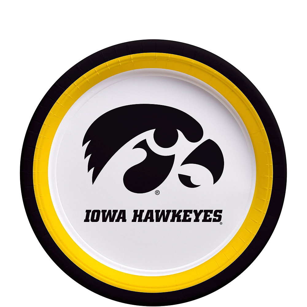 Iowa Hawkeyes Party Kit for 16 Guests Image #2